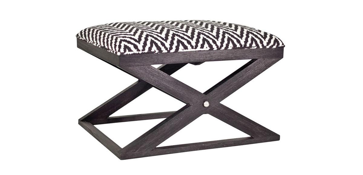 Atherton Onyx Stool Brownstone Furniture