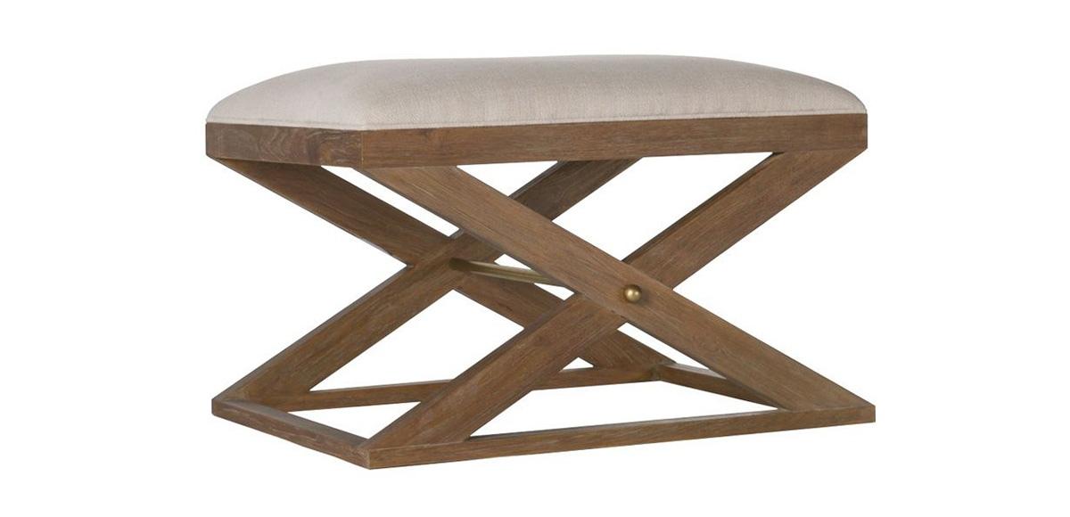 Atherton Teak Stool | Brownstone Furniture