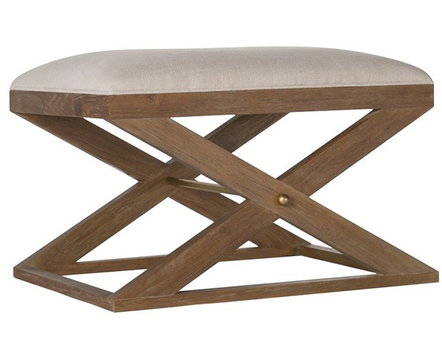 Brownstone Atherton Teak Stool
