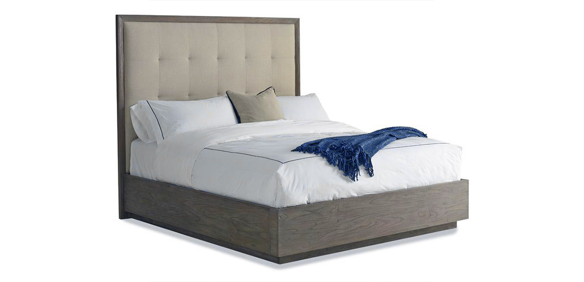 Palmer Driftwood Bed | Brownstone Furniture