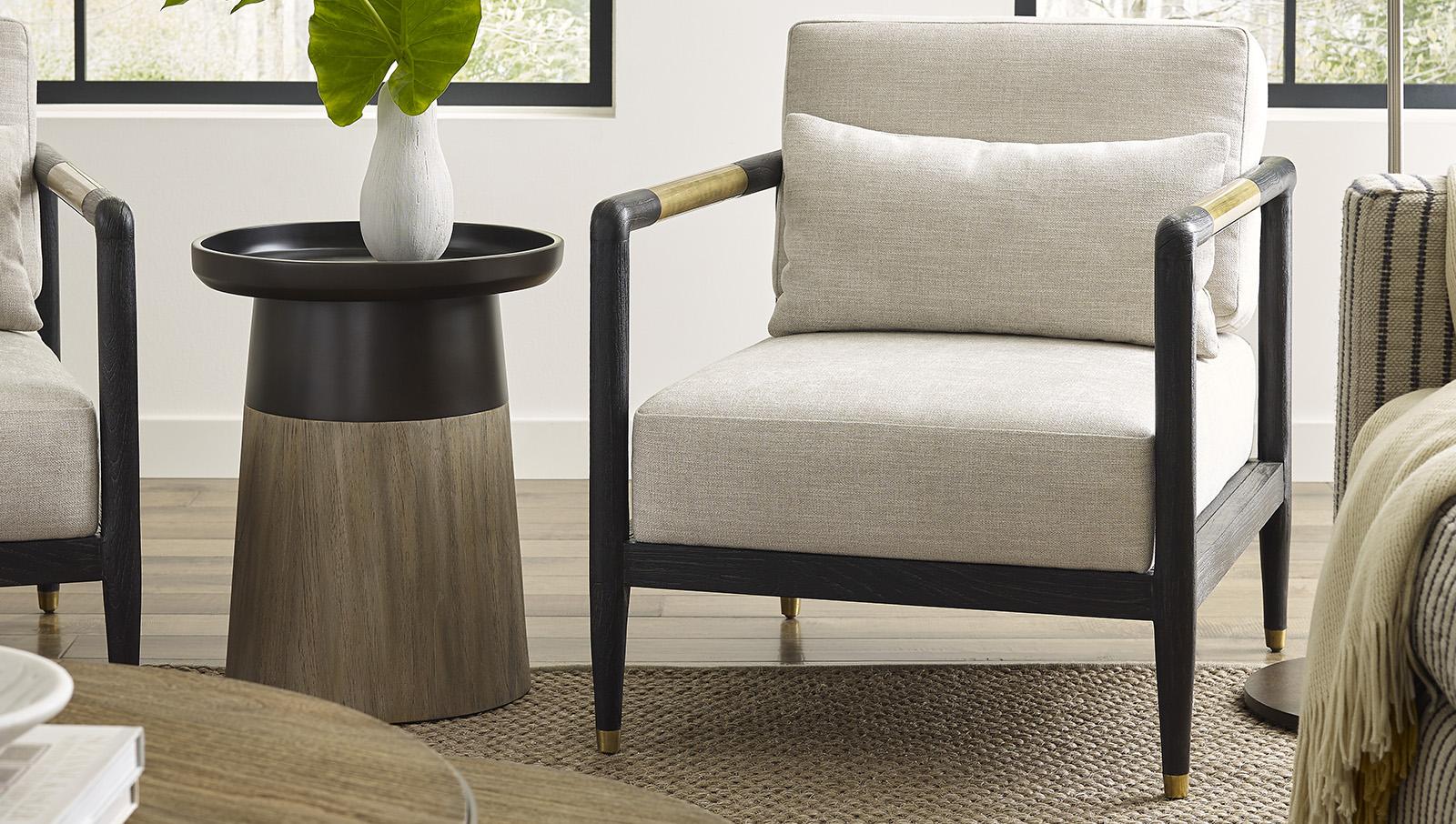 Carson Mink Chair