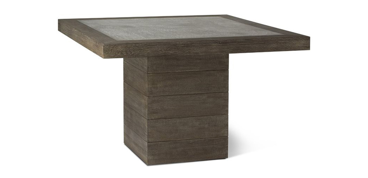 Laurel Dining Table Brownstone Furniture - Cement look dining table