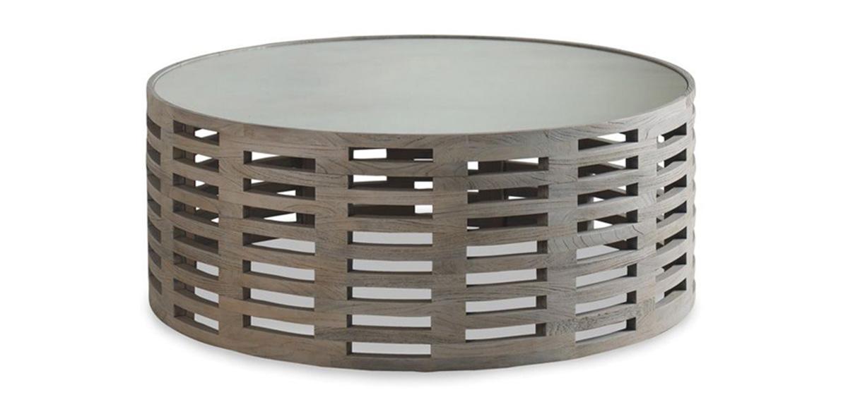 round driftwood coffee table tree stump palmer driftwood round coffee table sku pl502 brownstone furniture