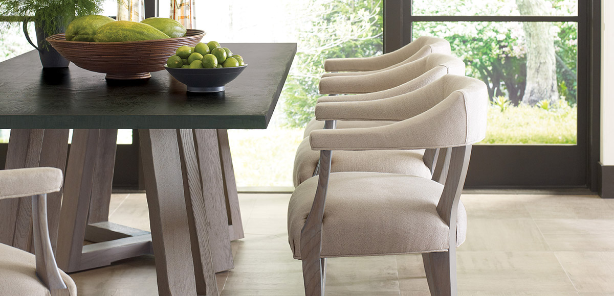 Saratoga Rectangular Dining Table | Brownstone Furniture